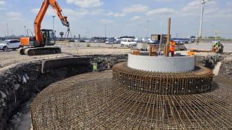 Nya vindar blåser på Ford – koldioxidutsläppen sjunker kraftigt när fabriken i Dagenham går över till vindkraftverk