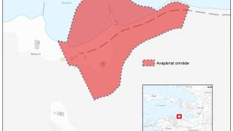 Karta_Skred_Avspärrat_område_Lökeberg