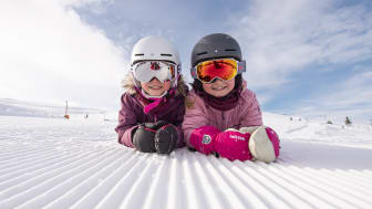 Barn och skidåkning