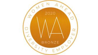 Bronsutmärkelse av Diversity Employer