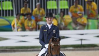 Sönke Rothenberger har fått förhinder och kan inte starta i Saab Top 10 Dressage. Foto: Roland Thunholm
