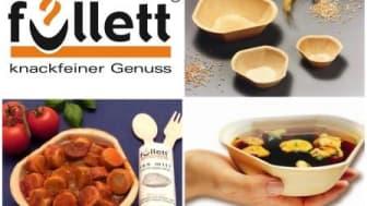 Füllett-essbare Schalen - die umweltgerechte Lösung für den Cateringbedarf