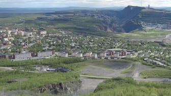 Hela Kirunaområdet ska kartläggas i det nya projektet. Foto: Wikimedia commons.
