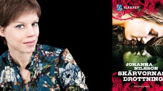 Författaren Johanna Nilsson  skriver en ny del i den historiska  romanserien Släkten