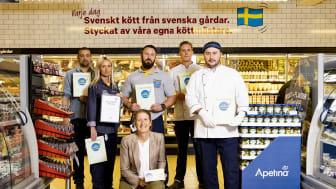 Butikschef Niklas Örevik med team!