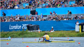 Olympier inspirerar barn i Östhammar  att nå  100 varv runt jordklotet för en bättre värld