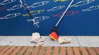 """Die Aktion """"Innenstadt clean-up!"""" möchte das Bewusstsein der Kieler Innenstadtbesucher*innen stärken."""