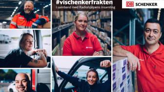 Vår tids hjältar - chaufförer, terminal- och lagerarbetare på DB Schenker
