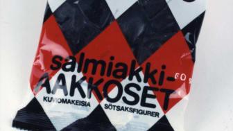 Aakkoset Salmiakki 1980-luku (1)