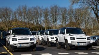 Jaguar Land Rover og Røde Kors i tæt samarbejde