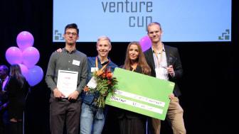 Coda Easy vann priset Student Superstart. Fotograf: Victor Ackerheim