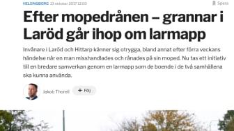 Boende i Laröd tar hjälp av CoYards för att skapa bättre samverkan