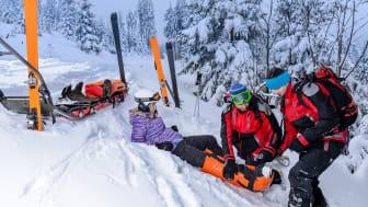 Jeder fünfte Sportunfall passiert beim Skifahren - die richtige Versicherung ist gefragt.