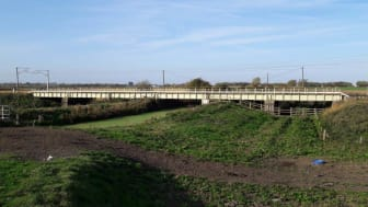 The bridge between Ely and Littleport (Picture: Network Rail)
