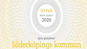 Söderköpings kommun tredje Bästa tillväxtkommun