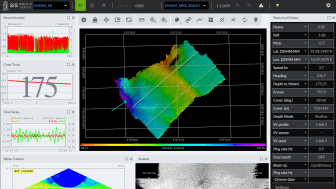 The new EM 304 MKII echo sounder from KONGSBERG boasts long range precision with a wide swath