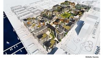 KONE förser ett av Malmös mest attraktiva områden med hissar