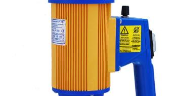 Elektrisk fatpump med löstagbart pumprör i PP