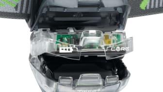 Mer ljus i Petzls pannlampor för mindre pengar med nytt miljövänligt uppladdningsbart batteri