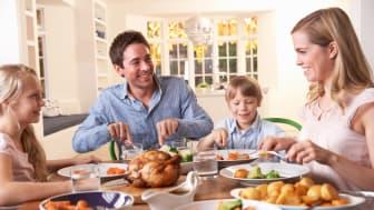 Familjemiddagen viktig