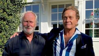 Guldäpplet 2021 - Uno Levinsson och Björn Ranelid