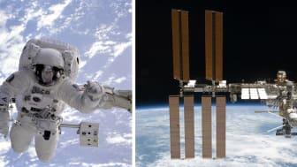 Die internationale Raumstation ISS ist das größte künstliche Objekt im Erdorbit. Sie wird gemeinsam von den USA, Russland, Japan, Kanada und der europäischen Weltraumorganisation ESA betrieben.