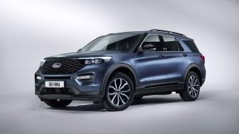 Ford visar nu upp nya Explorer plug-in-hybrid-SUV.