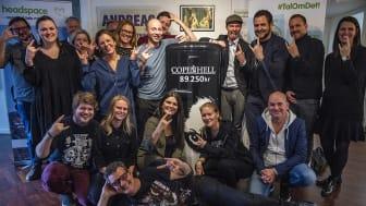 COPENHELL donerer 89.250 kroner til headspace Danmark