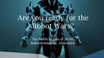 Altran ställer upp i Robotkampen under Almedalsveckan