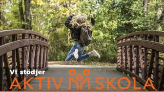 Skandinaviska Områdesskydd stödjer Aktiv Skola