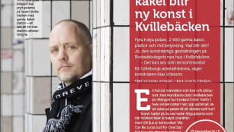 Reportage i senaste numret av Bostadsbolagets hyresgästtidning Trivas.