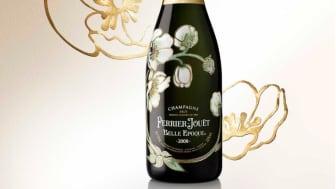 Ny årgång Perrier-Jouët Belle Epoque 2008  med perfekt balans av elegans och struktur