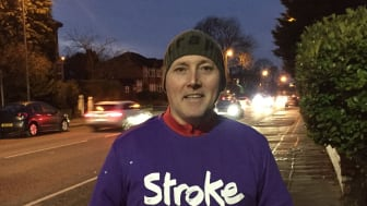 Whitefield stroke survivor takes on Resolution Run for the Stroke Association