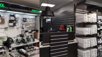 Festool ny leverantör i ombyggd butik!