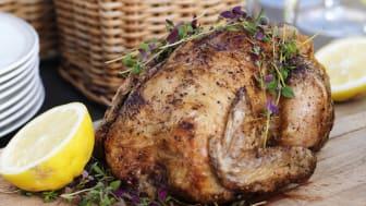 Kyckling är svenskarnas favoriträtt