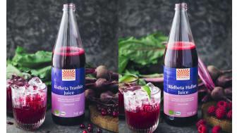 Kung Markattas storsäljande rödbetsjuice i nya smaker