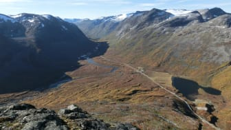 Endelig dekning ved Trollstigen: Telia bygger infrastruktur basert på grønn energi