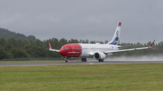 Boeing 737 MAX take-off roll