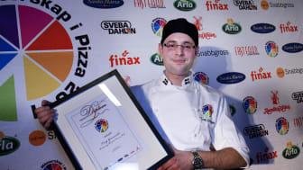 Hjortpizza från Nyköping gav vinst i Pizza-SM 2011