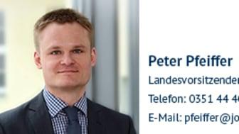 Peter Pfeiffer, Landesvorsitzender Mitteldeutschland