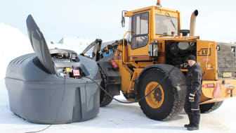 Finncont Nafta 6000 bränsletank och förvaring av diesel, olja m.m