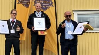 Sveriges bästa bussförare finns i Transdev-koncernen