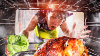 Whether cooking a turkey or a vegetarian delight, good ventilation or an air purifier from Blueair will help remove most unwanted airborne pollutants. Istock photo/Copyright:cookelma