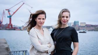 Bild: Jessica Mitrosbaras och Nataly Duyko, Female Network Forum. Sigma Technology
