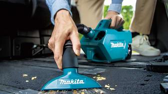 Sladdlös dammsugare 18V LXT® är speciellt utformad för rengöring av bilinteriörer
