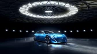 Premiär: nya konceptbilen Peugeot Instinct Concept