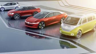 Volkswagen står på tærsklen til at introducere en ny generation af elbiler og vil producere 1 million elbiler årligt i 2025