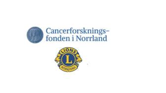 Cancerforskningsfonden i Norrland och Lions Cancerforskningsfond i Norr samarbetar.
