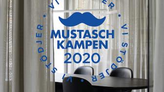 I år stödjer AW Mustaschkampen