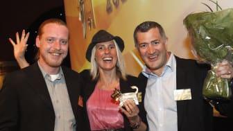 Gourmetkorv i Göteborg vinner Arla Guldko 2013 Bästa Snabbmål